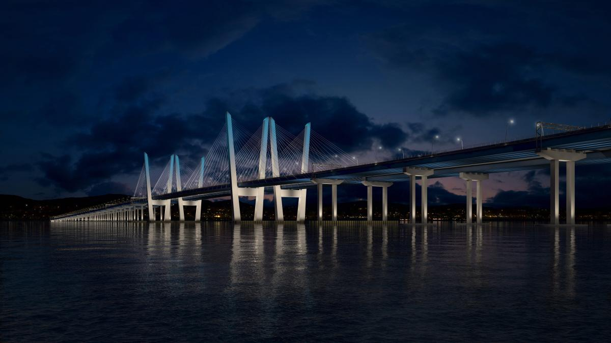 Philips brings connected LED lighting to North America's largest bridge