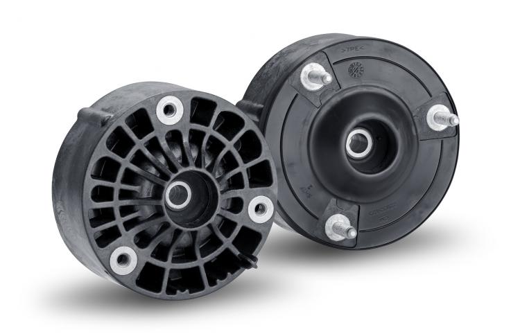 ContiTech develops world's first polyamide strut mount for passenger car chassis