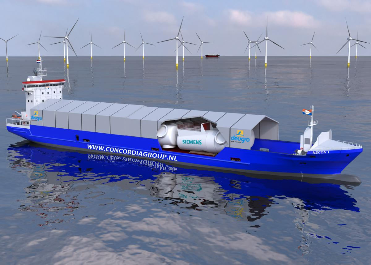 Siemens reduces transport costs for offshore wind turbines by up to 20 percent