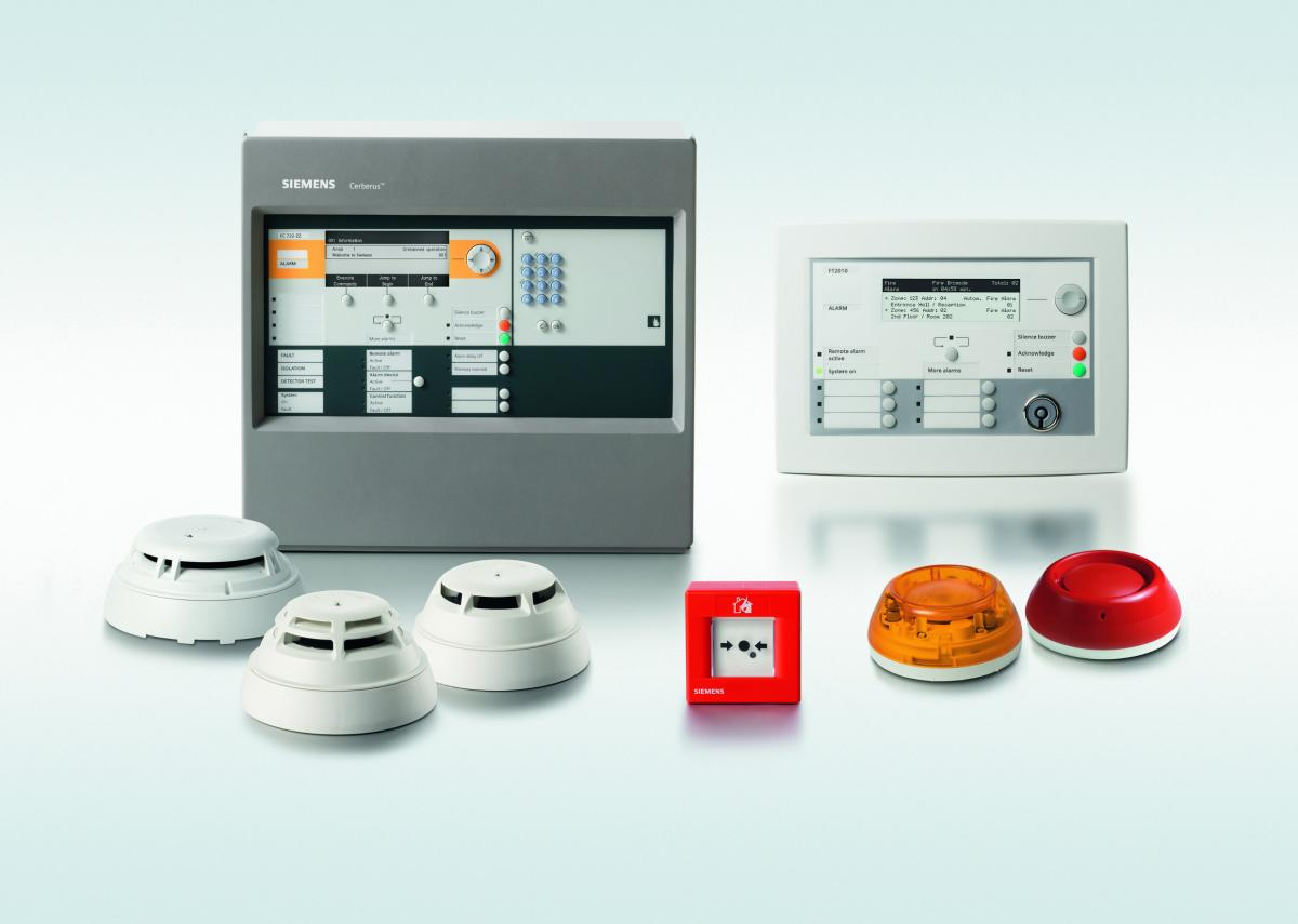 Effective fire protection from Siemens for all areas of application