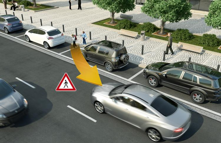 Vehicle-to-X technology from Continental protects vulnerable road users