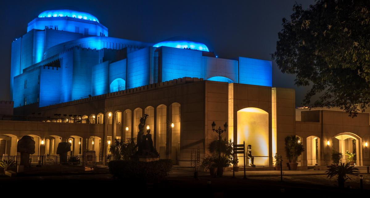 Philips revitalizes Cairo's iconic Opera House with spectacular connected LED lighting