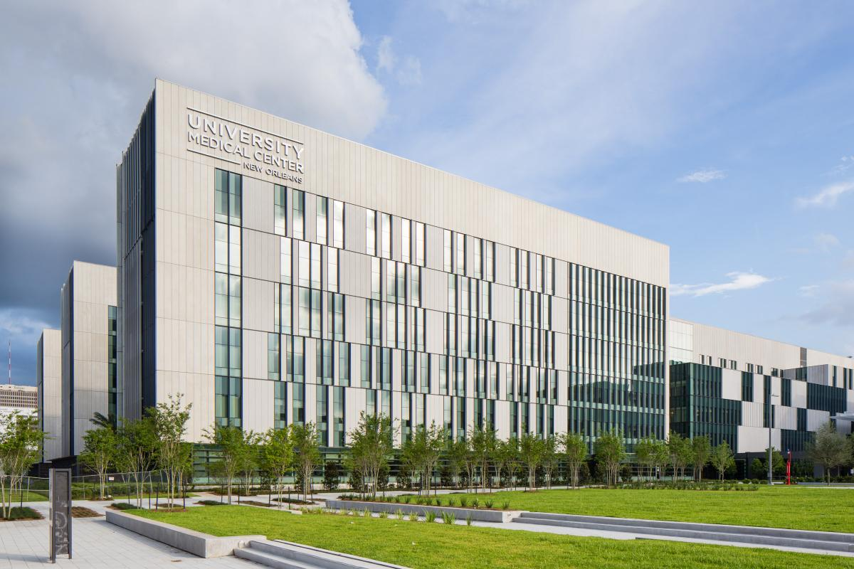 Lafarge high-performance concrete makes strong contribution to resilient design of University Medical Center of New Orleans