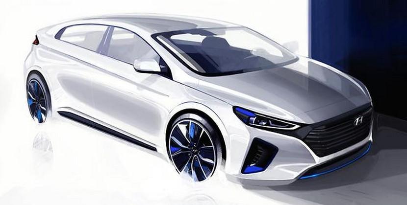 Hyundai Motor reveals interior and exterior renderings of New IONIQ