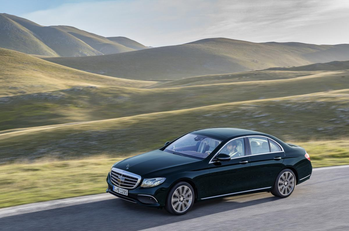 The new E-Class: The most intelligent business saloon