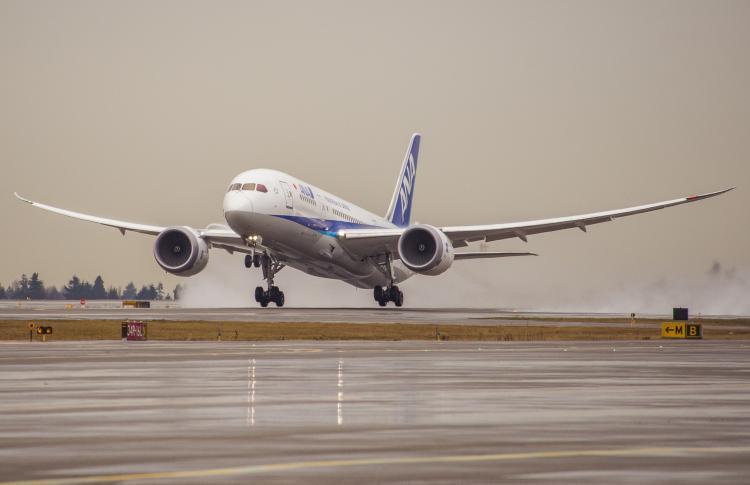 Boeing, ANA Celebrate Airline's 100,000th 787 Dreamliner Flight