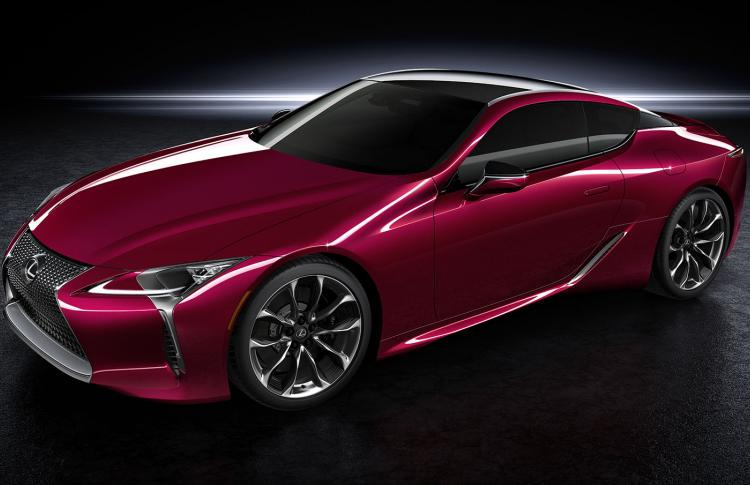 Global Debut of the All-New Lexus LC 500 at the 2016 NAIAS