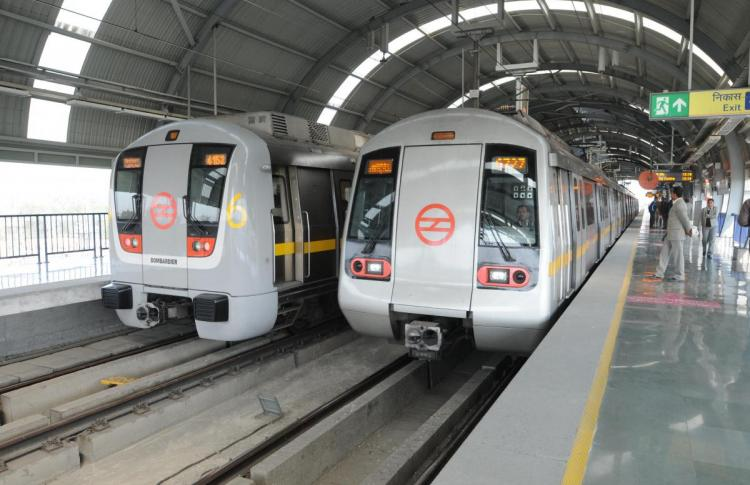 Thales selected to extend the ticketing system of the Delhi Metro