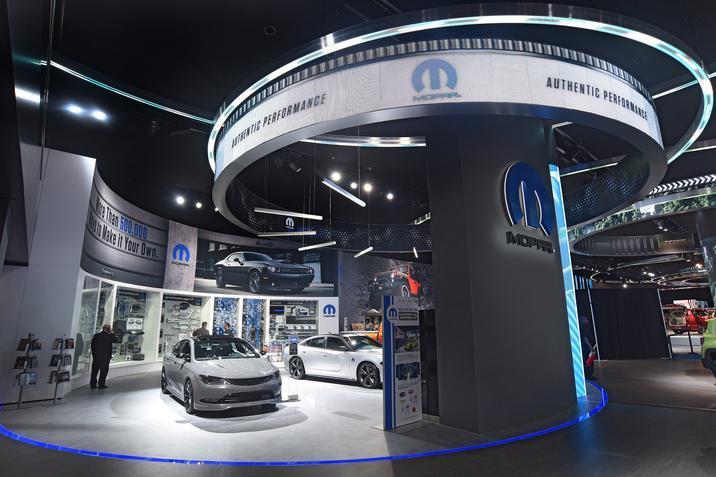 Four customized rides highlight Mopar display at 2016 NAIAS