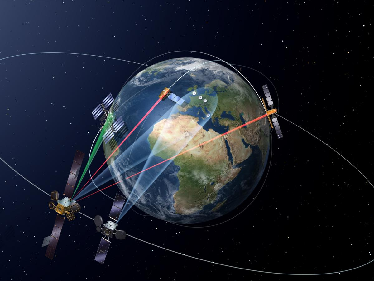 """Launch of the first satellite in the """"SpaceDataHighway"""" programme"""