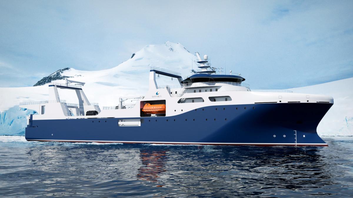 Wärtsilä design chosen to enable environmentally sustainable krill fishing in Antarctic waters