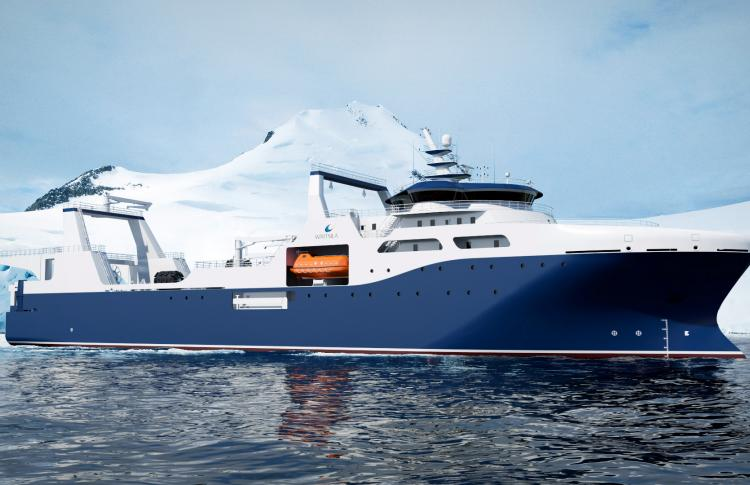 Wärtsilä design chosen to enable environmentally sustainable krill fishing in Antarctic waters