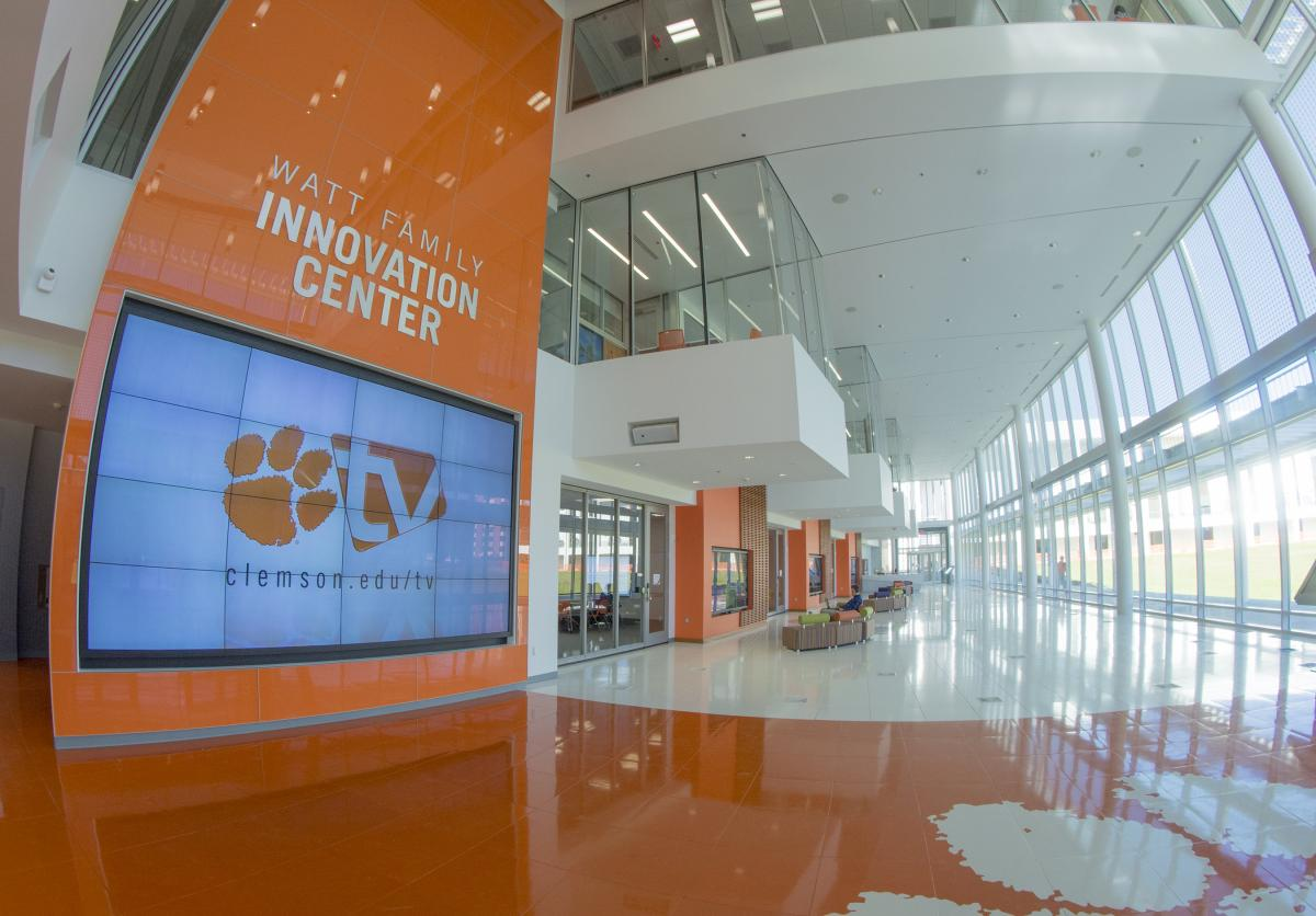 Philips unveils first lighting installation that leverages Power over Ethernet on major university campus as part of Clemson University's Watt Family Innovation Center