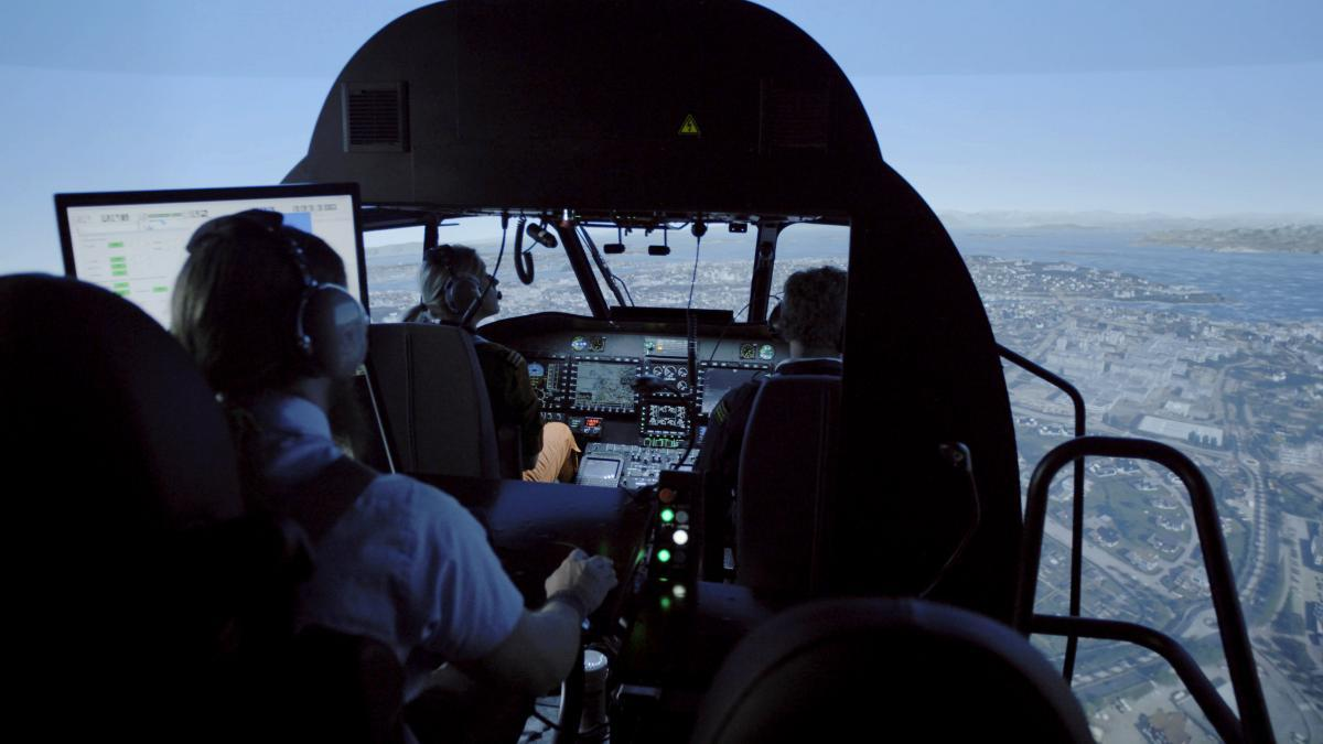 Thales Reality H Simulator receives Level D qualification for the opening of the Helicopter Training Centre In Norway