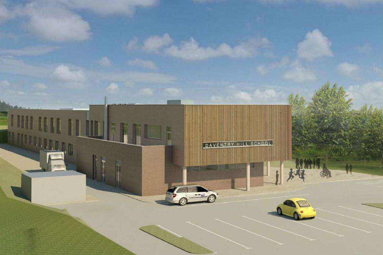 BAM chosen to build Daventry Hill School