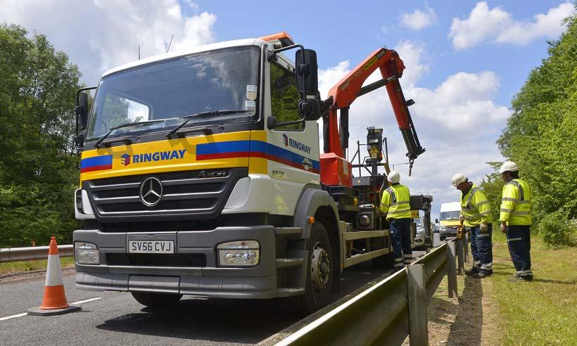 Double contract success for Eurovia to deliver highway maintenance services in the United Kingdom
