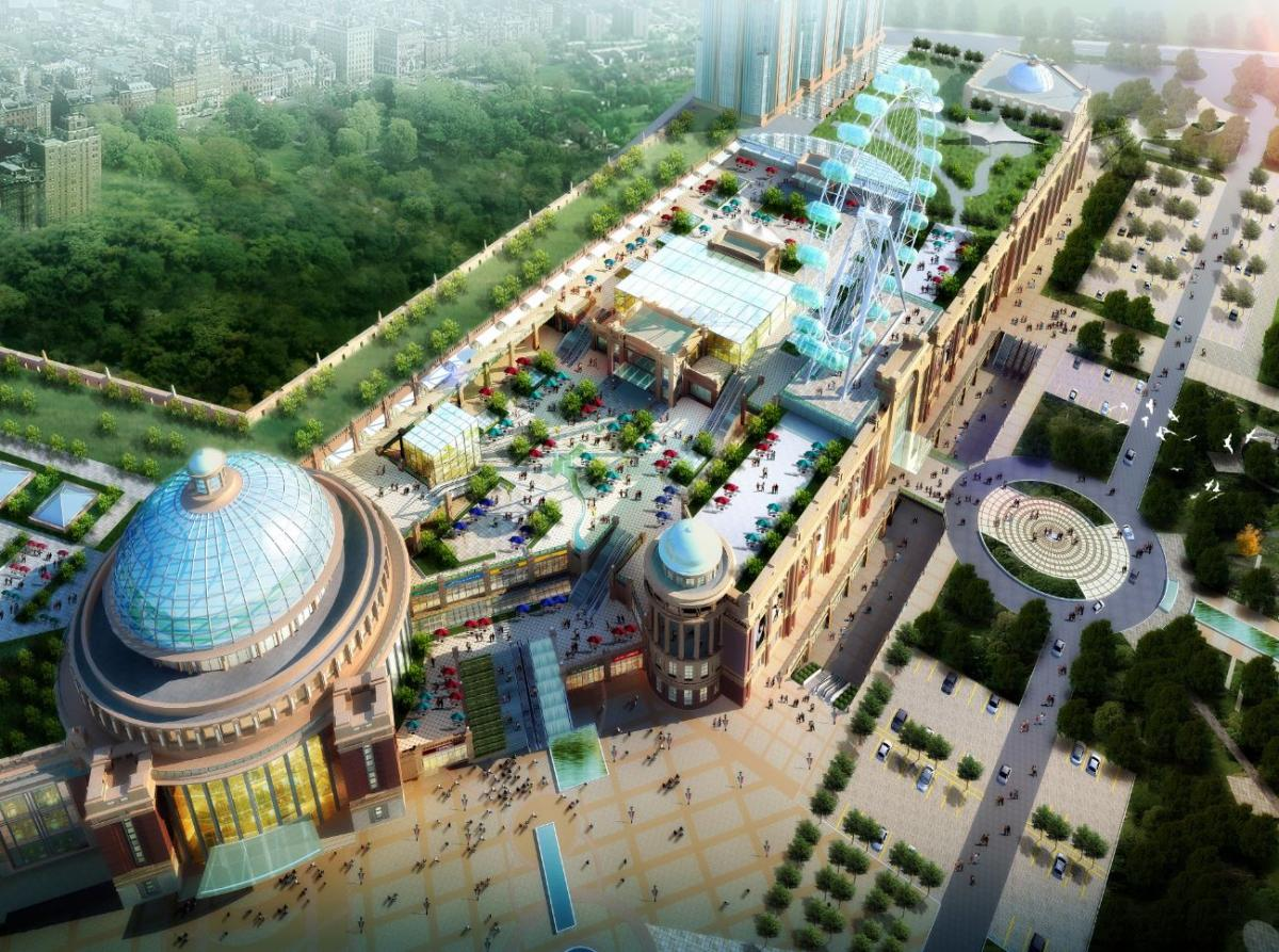 China's biggest shopping centre will open in 2016