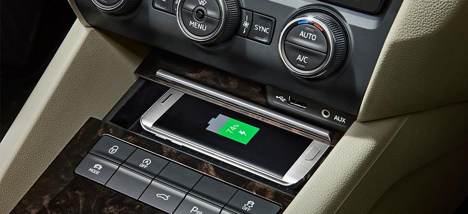 Wireless charging using the Qi wireless standard