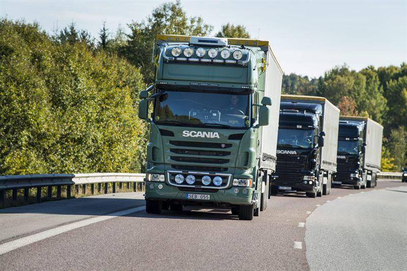 Scania and Ericsson join forces to improve transport efficiency