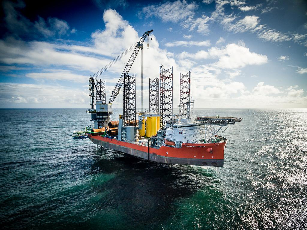 Offshore wind park: Bilfinger successfully completes €100 million project