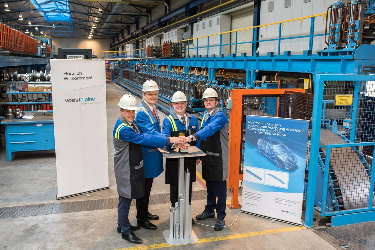 Europe's most advanced special profiling line goes into operation at voestalpine in Krems