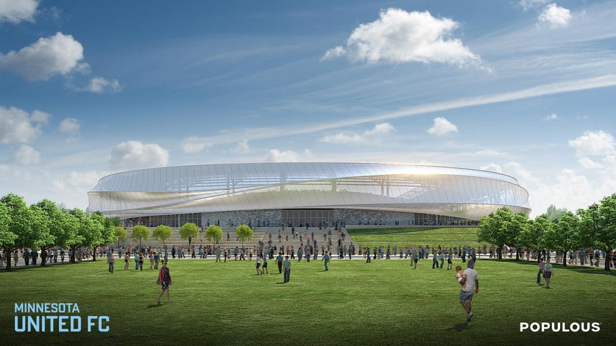 Minnesota United unveils Populous-designed stadium