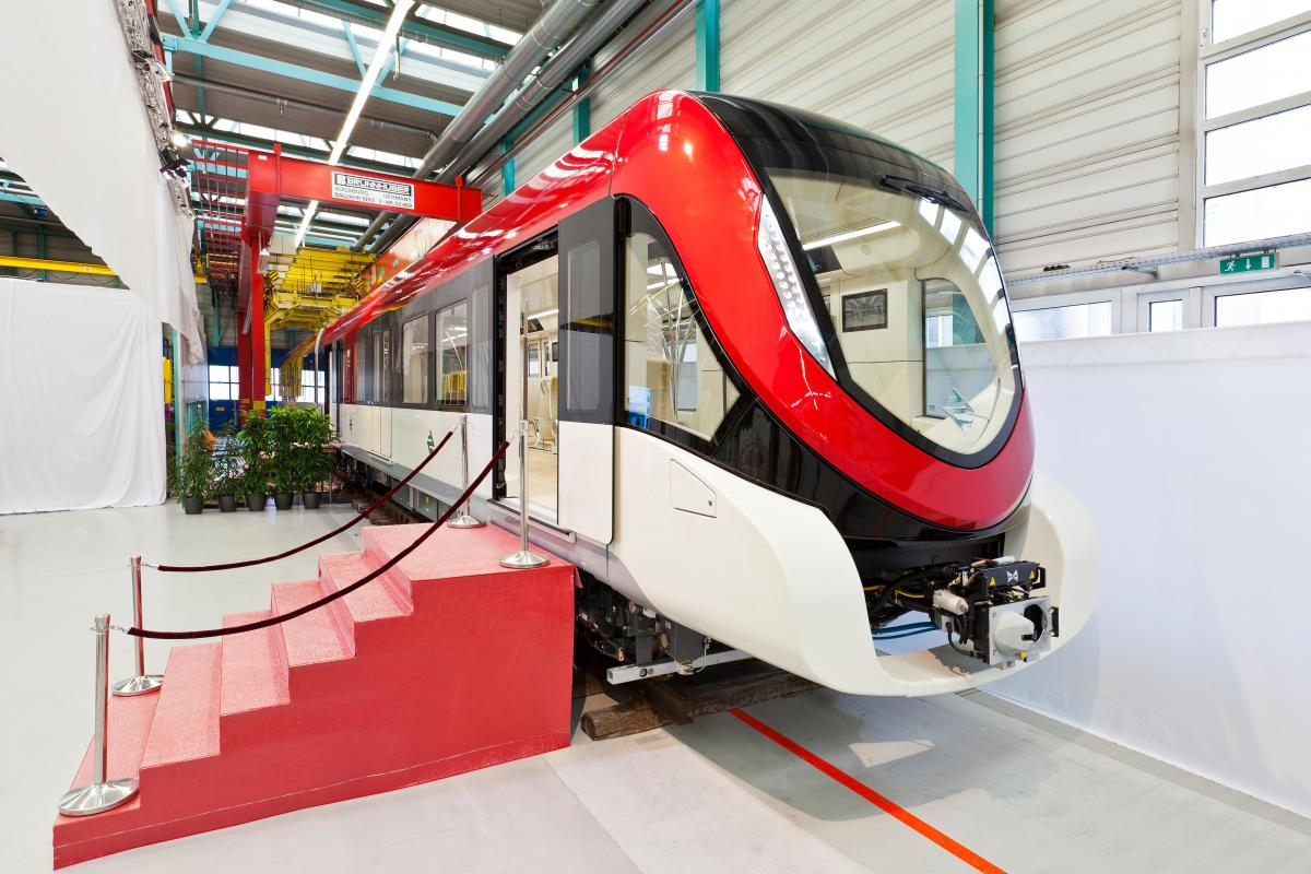Siemens presents new metro for Riyadh