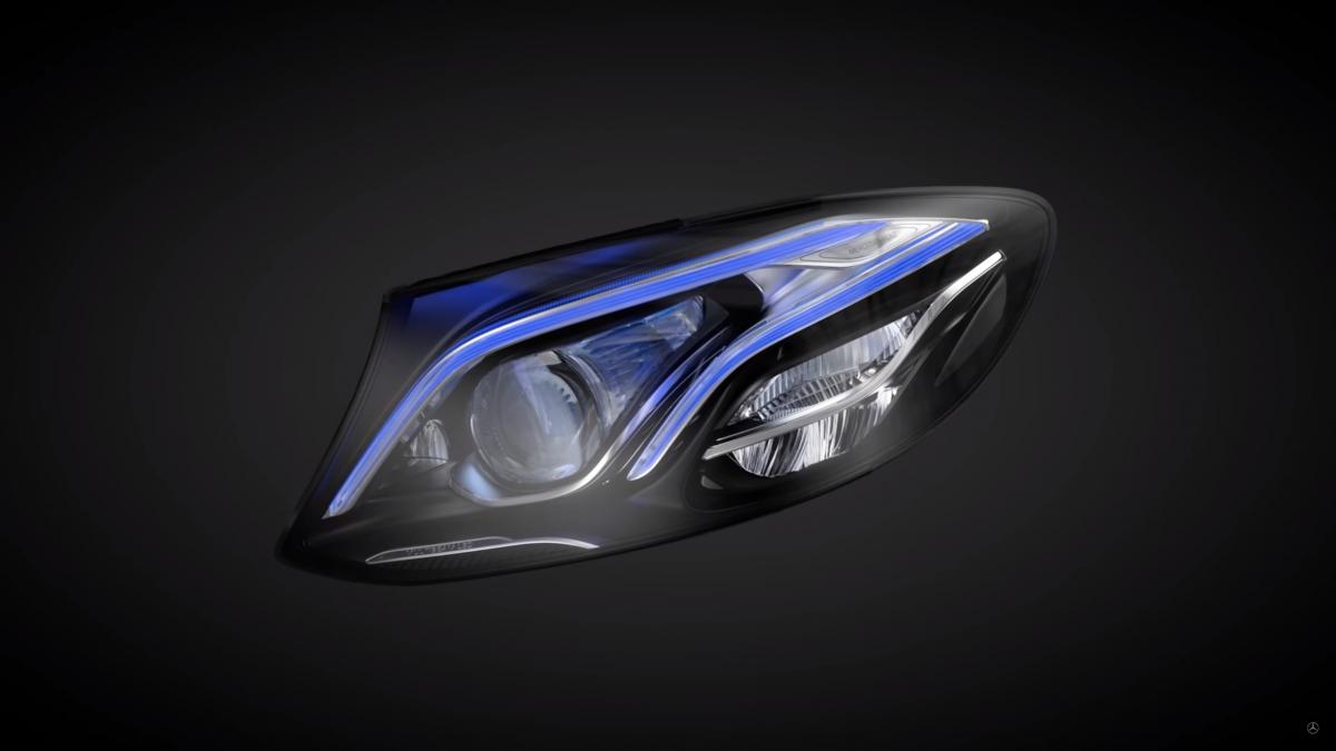 MULTIBEAM LED headlamps in the new E-Class
