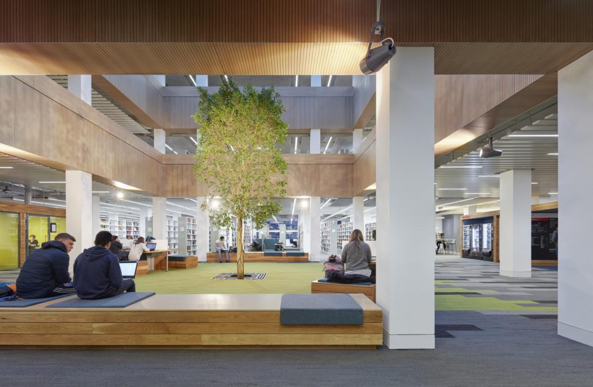 Sheppard Robson remodels Lancaster University Library