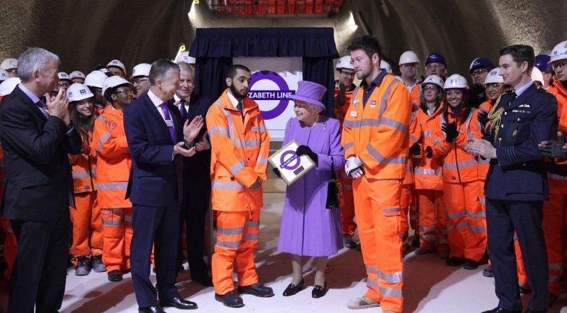 Crossrail will become the Elizabeth Line from 2018