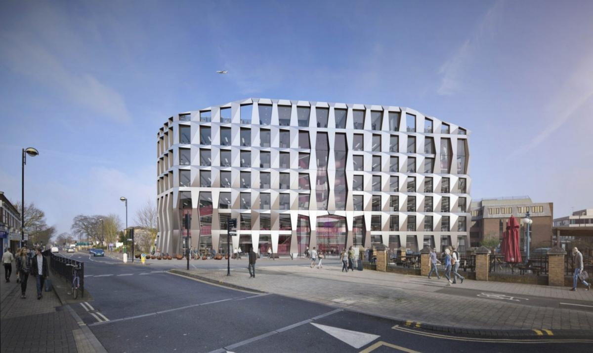 Sheppard Robson-designed Hounslow civic centre gets planning