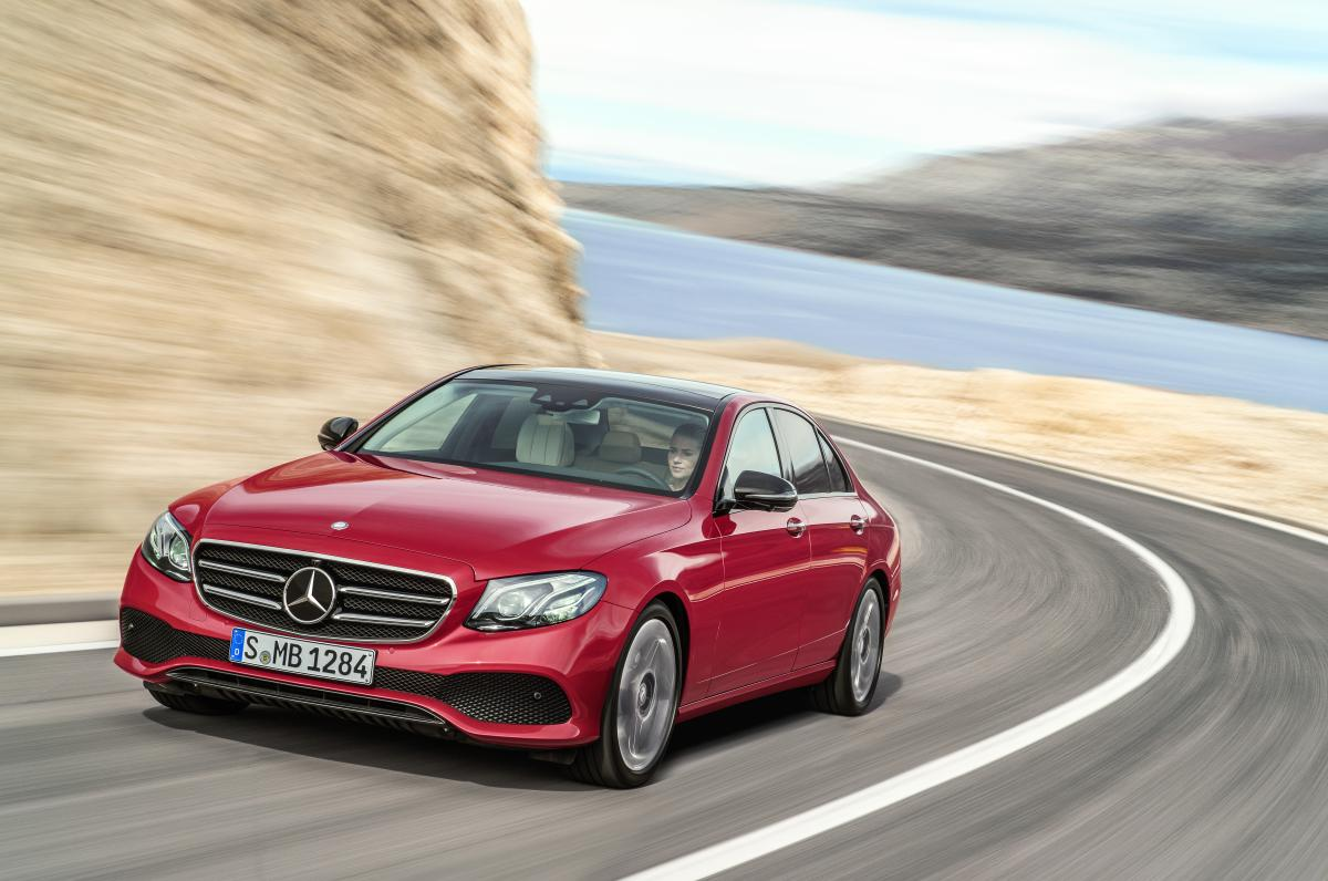 Environmental Certificate for the new E-Class: CO2 output has improved by round one third