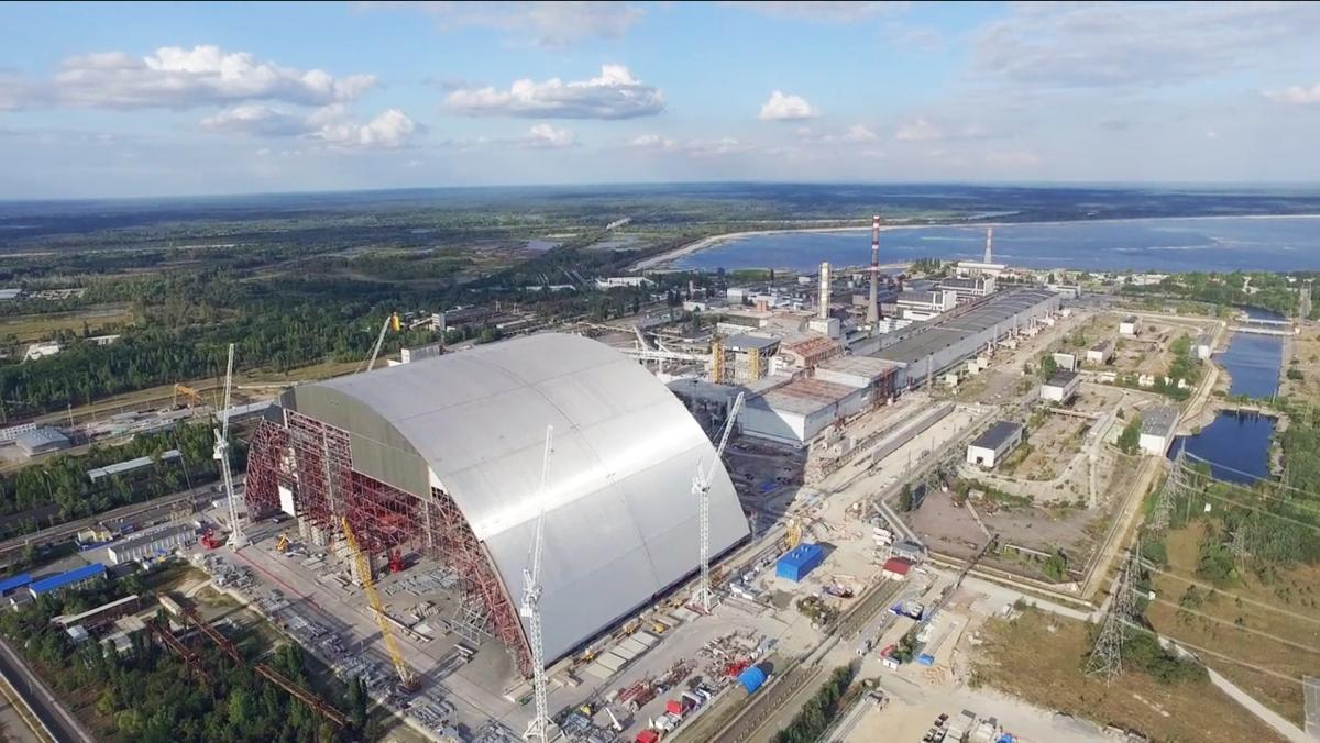 Chernobyl: An unparalleled project to design and construct a confinement shelter in the form of an arch