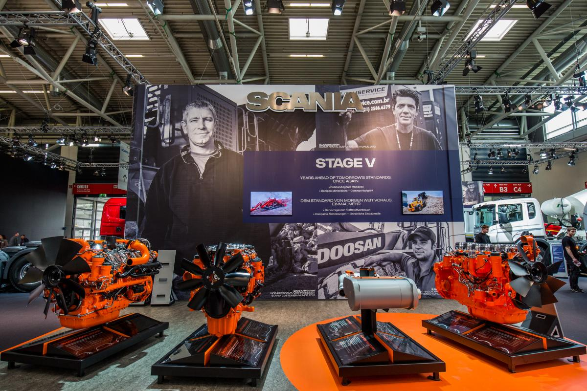 Scania and Doosan extend cooperation into portable power