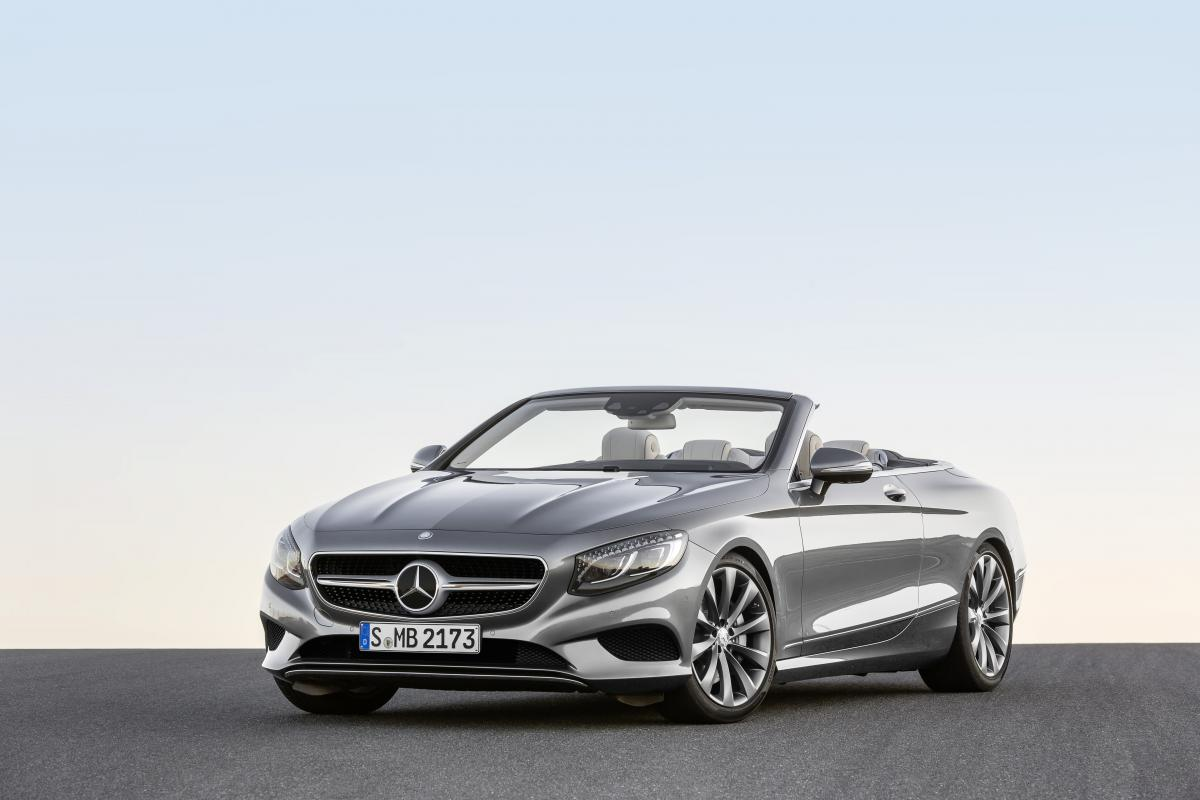 The new Mercedes-Benz S-Class Cabriolet: Open-top luxury