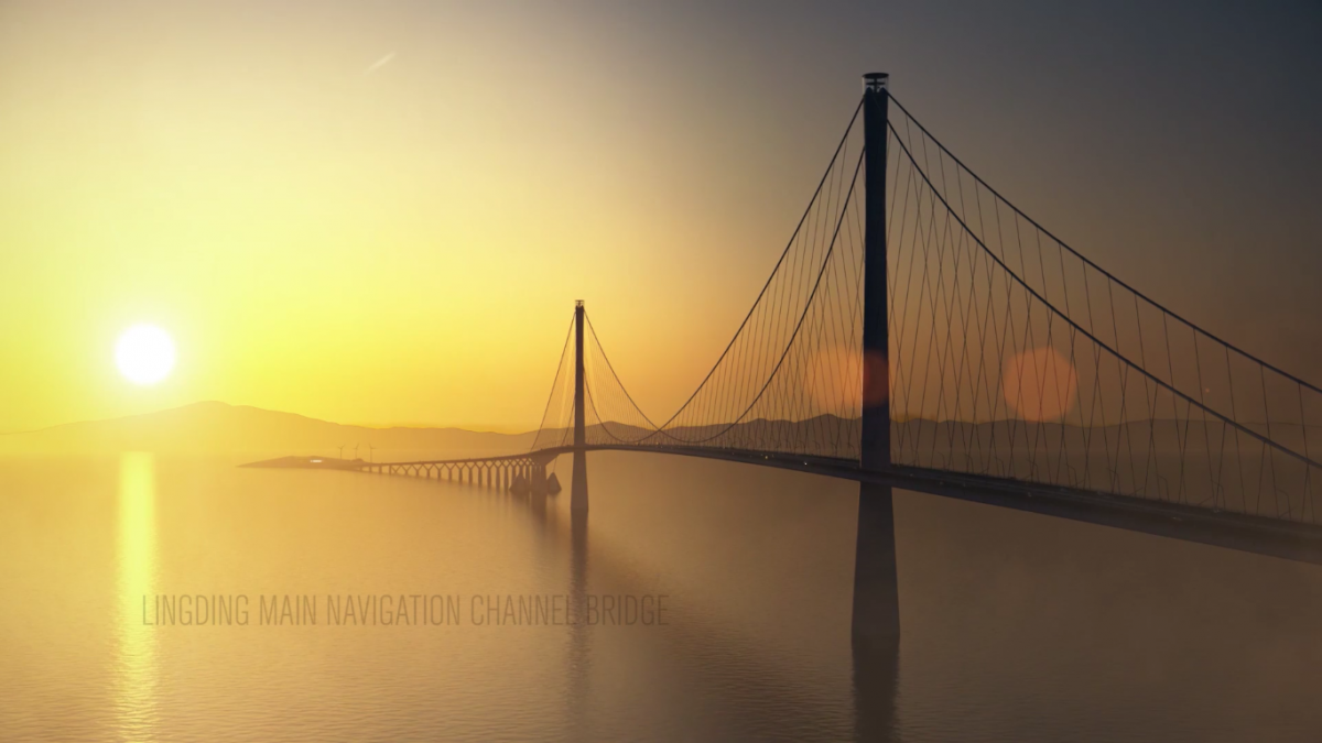 COWI and DISSING+WEITLING win large international bridge design competition