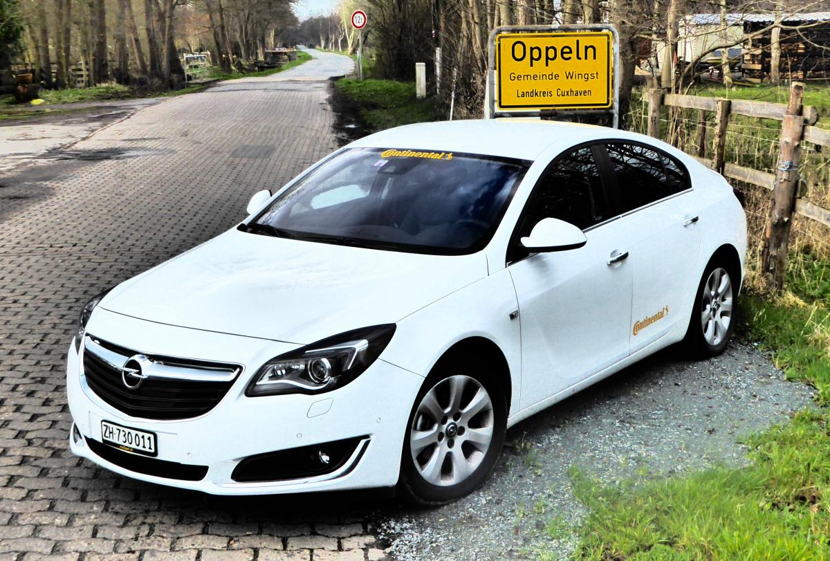 Record-breaking: Opel Insignia Drives 2,111 Kilometers from Switzerland to the North Sea on One Tank of Fuel