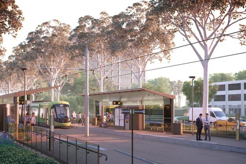 Architectus and dsb Landscape Architects collaborate on Canberra's new light rail