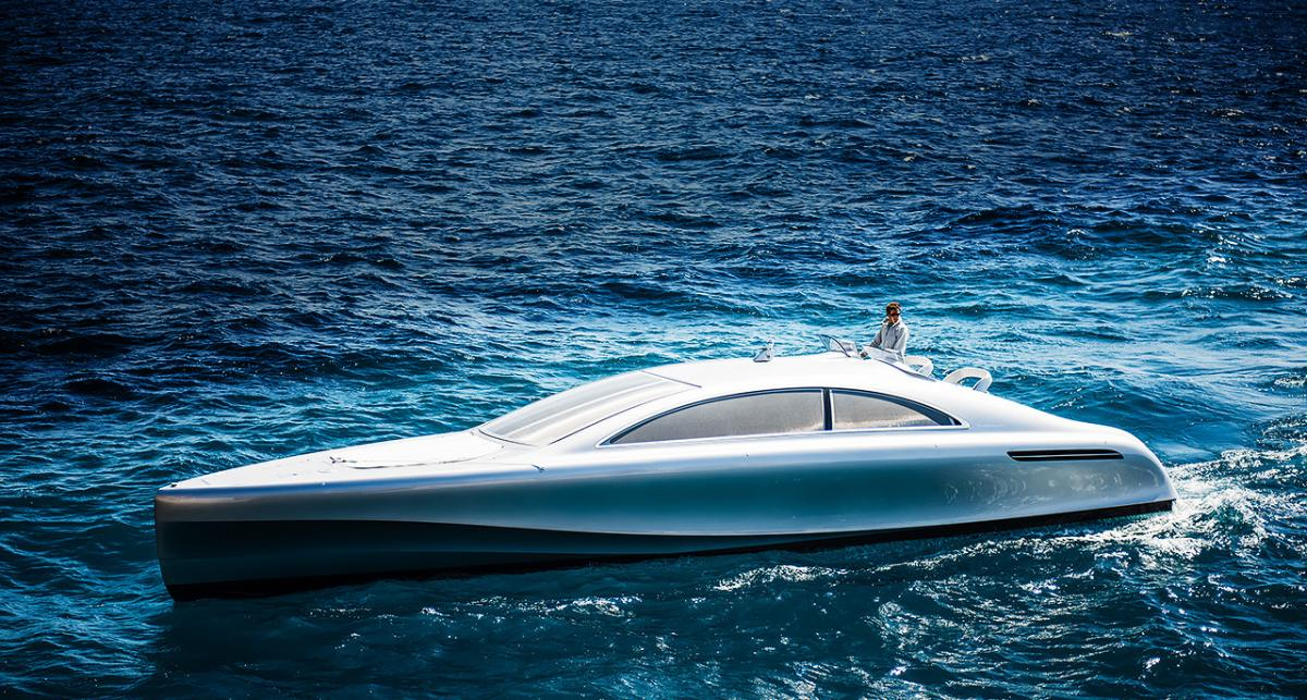 World premiere of the Mercedes-Benz Style luxury yacht