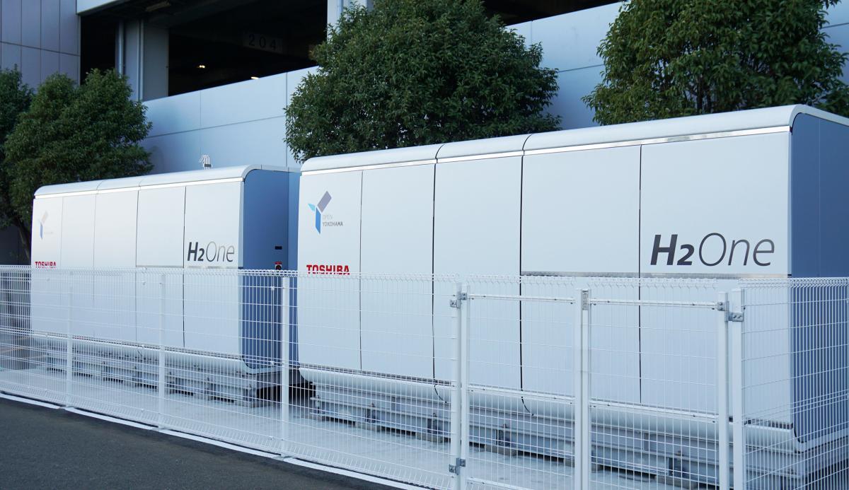 Toshiba H2One™ Hydrogen Based Autonomous Energy Supply System Now Providing Power to the City of Yokohama's Port & Harbor Bureau