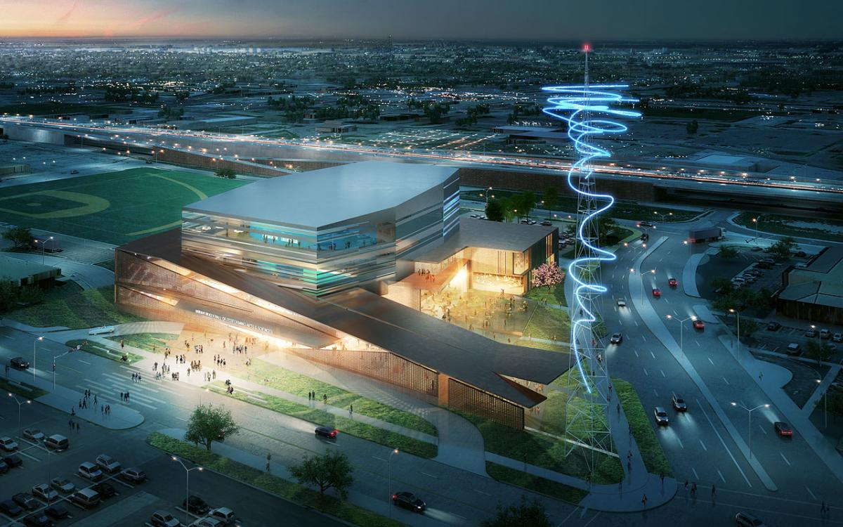 Design details revealed for the Buddy Holly Hall of Performing Arts and Sciences