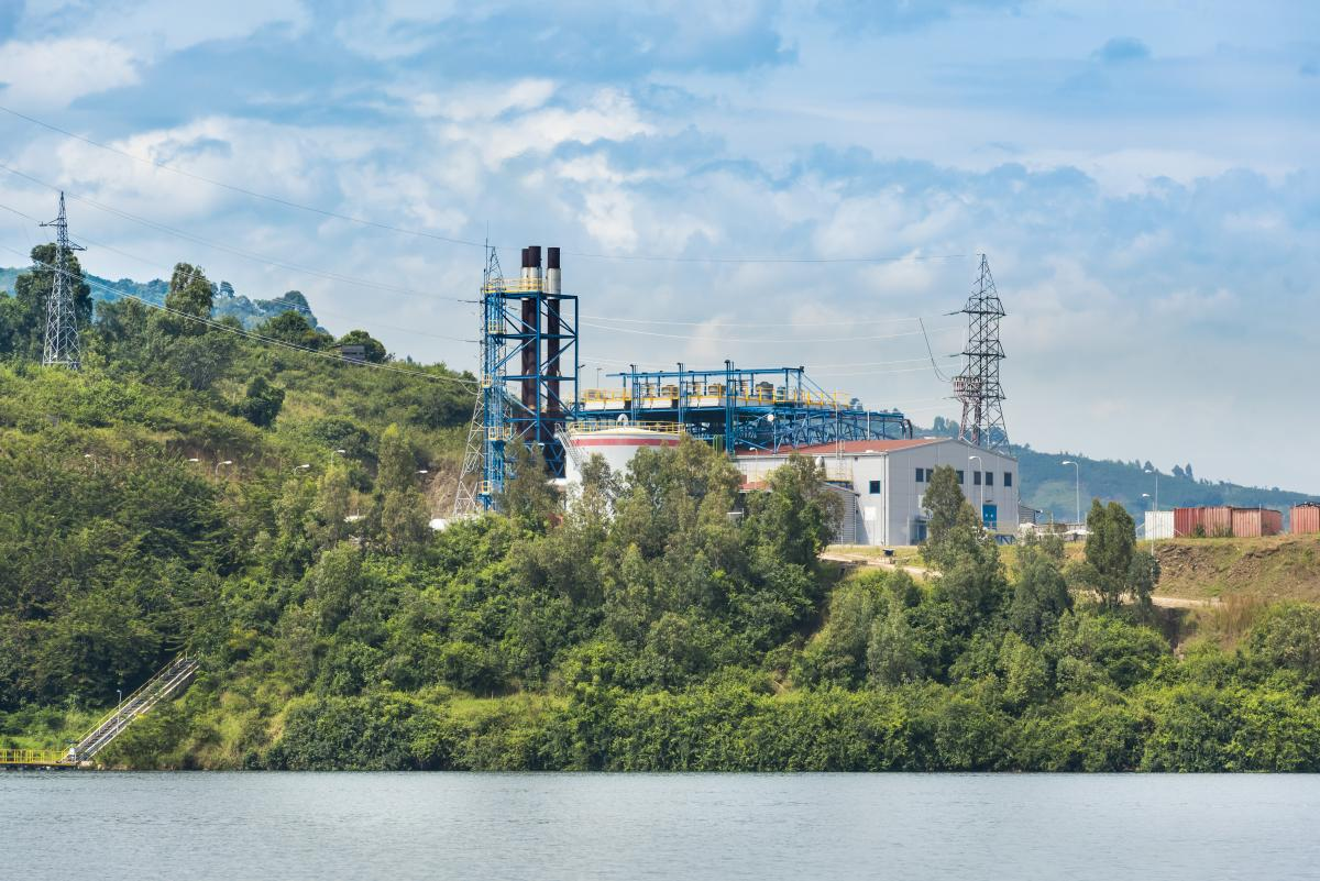 "Wärtsilä power plant mitigates ""killer lake"" gases in Rwanda"