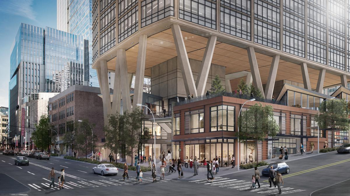Skanska invests in a new office project in Seattle