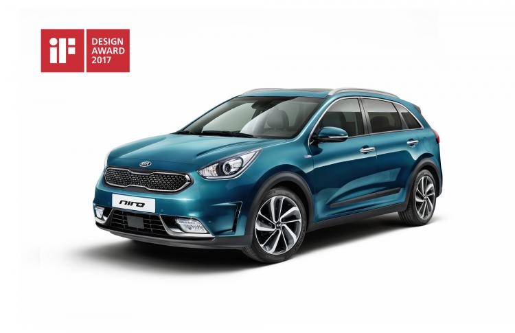 Triple triumph for Kia at iF Design Awards 2017
