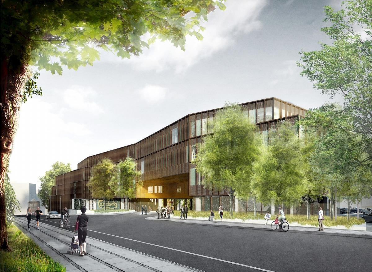 A new main office building for the Carlsberg Group is on its way in Copenhagen