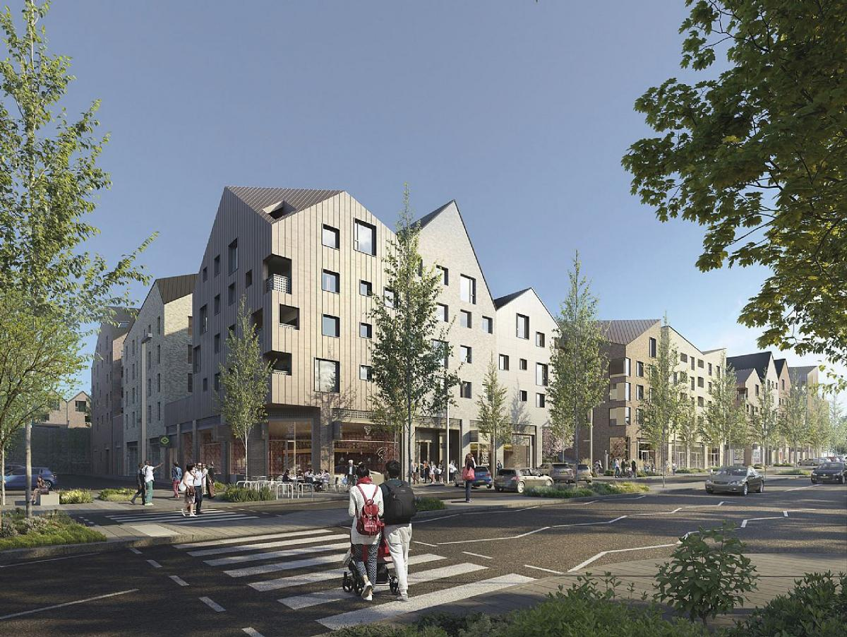 New housing and urban development project in England