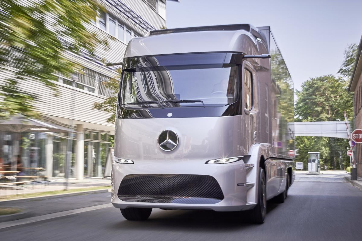 Zero emissions, quiet as a whisper and with a payload of 12.8 t
